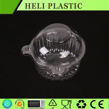 Clear transparent blister plastic PET cake cup tray wholesale