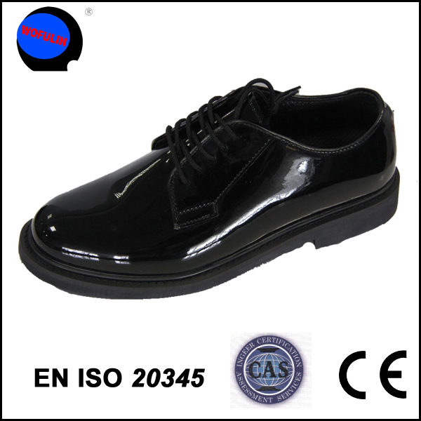 police military leader shoes