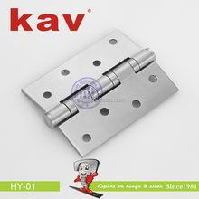 Stainless steel bathroom heavy duty pivot cabinet glass shower door hinges (HY-01)