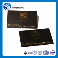 China Wholesale gold membership plastic card price