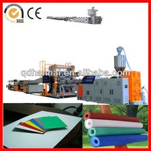 PP/PE thick board making machine with co-extrusion