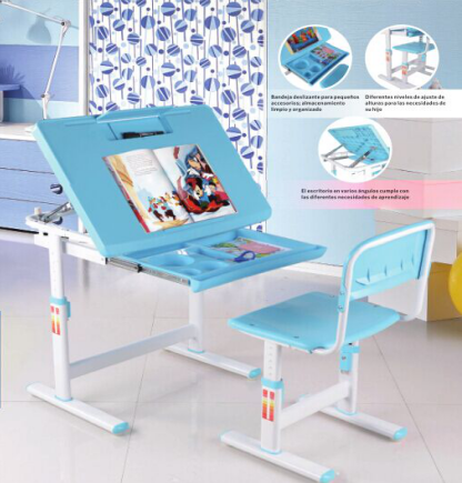 Reading study table design with storage