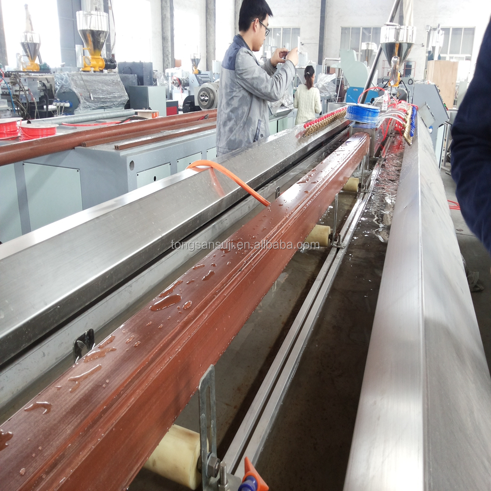 WPC production line for wood plastic/WPC fence whole production line