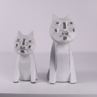 Home Decoration cats, resin animal crafts