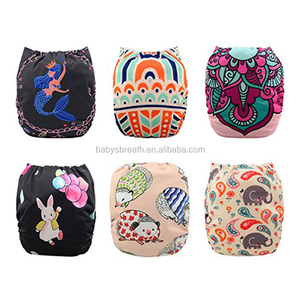 Stylish design reusable baby cloth diaper, reusable nappies