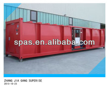 50000 to 68000 liters petrol and diesel storage tank container station