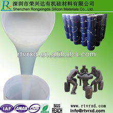 RTV2 silicone rubber for epoxy resin products making molds