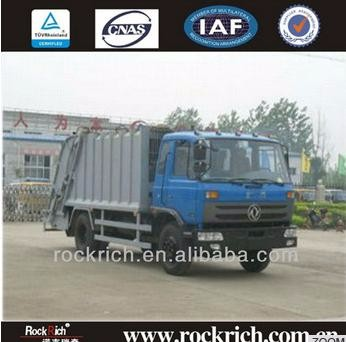 Heavy duty Dongfeng euro IV gross weight road sweeping truck with sweeper