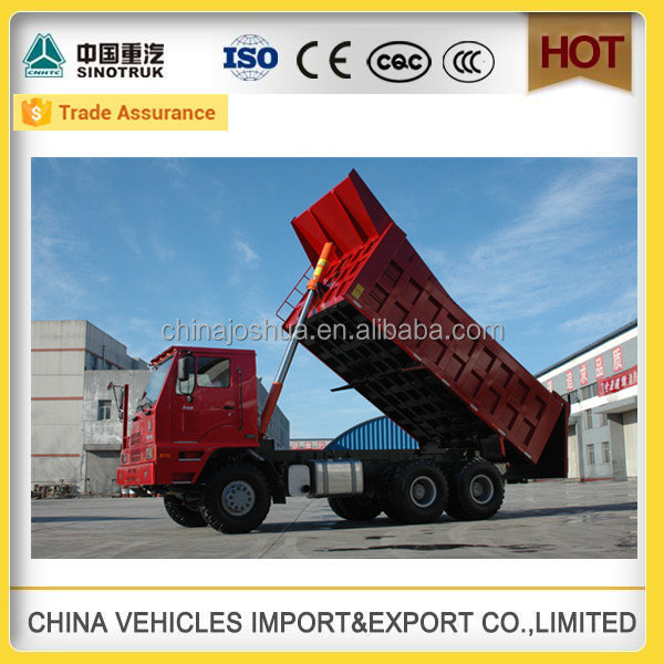 Factory wearhouse sinotruk group trucks hot sale mine tipper transportation