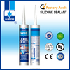 Clear white paintable acrylic sealant and adhesive