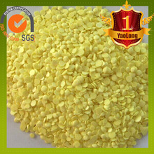 China factory granular sulphur 99.9% with low price