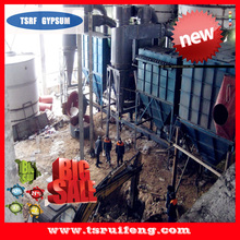 production line for gypsum powder making fully automatic machinery with long life service made in China