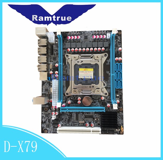 Dual channel server motherboard X79 2011 pins support e5-2600 cpu