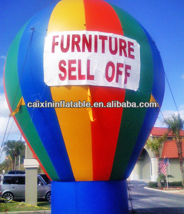 big outdoor inflatable advertising balloon for sale / giant advertising balloons