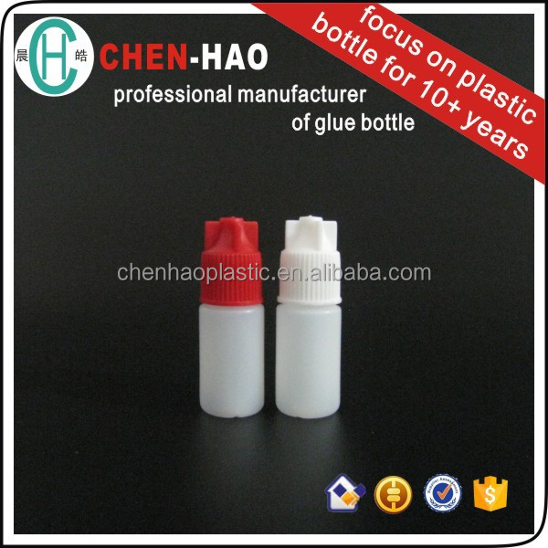 Chemical Industrial Use Nail Glue Bottle plastic bottles 3gr Factory