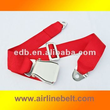 Top luxury aeroplane safety seat belt