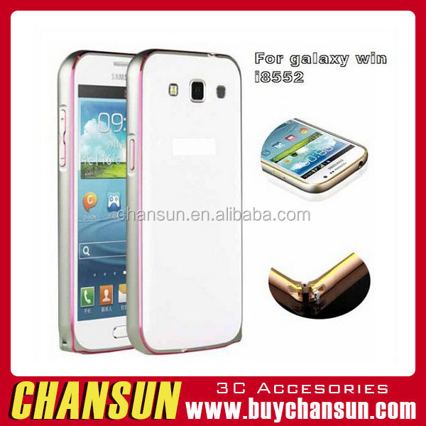 2016 best sellling aluminum Mobile Phone Cover for Samsung galaxy win,Back Cover Case for Samsung galaxy win I8552