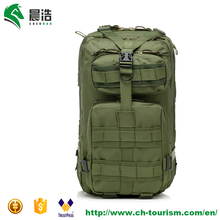 wholesale Chenhao 600D waterproof oxford muitipurpose outdoor durable army green 3P molle military tactical backpack 25L