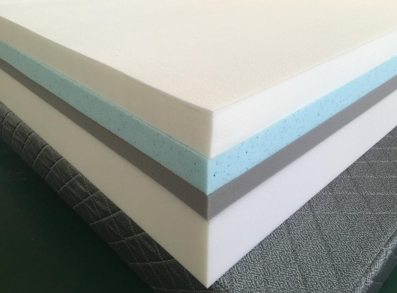 Premier luxury comfort latex cool gel memory foam mattress roll in color box - Jozy Mattress   Jozy.net
