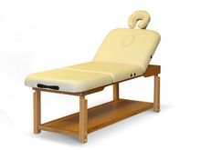 Deluxe Professional Worksmanship Stationary III Stationary Wooden Massage Table