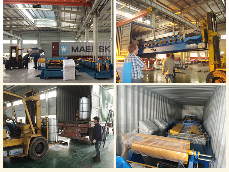 galvanized corrugated metal roofing used roll forming machine