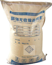 high-strength cementitious grout non shrink grout chemical grout material