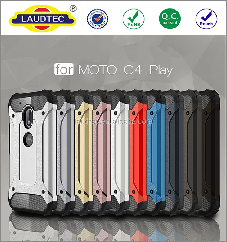 Plastic Rugged Case for moto g4 play , New Rugged <strong>Shock</strong> Proof Heavy Duty Tough Hard Stand Case Cover for moto g4 play
