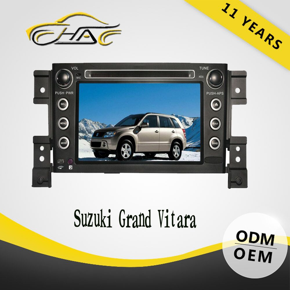 Auto accessories touch screen car radio gps for suzuki grand vitara