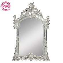 Fantastic Classic White Frame Beauty Salon Decorative Wall Mirrors Cheap