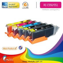 for Canon PGI 550 Refill ink cartridge with ARC chip Zhuhai