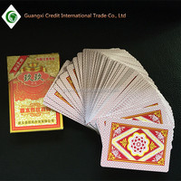 Promotional Poker Type and Paper Material playing cards,full color printing playing cards