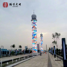 Shanghai factory Hot sale cylindrical led display