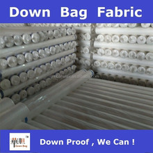 child garment down proof fabric for down jacket and duvet