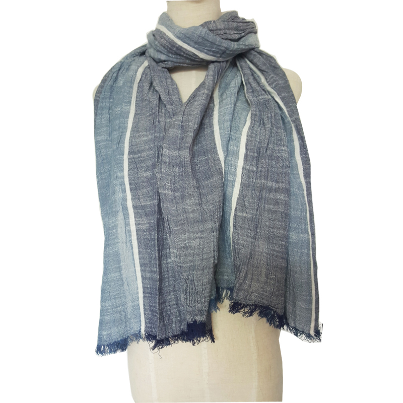 Wrapables Knitted vintage style Viscose Infinity Scarf with tassels
