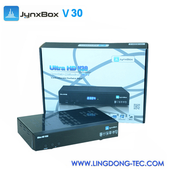 android tv box Jynxbox ultra hd v30 with build in jb200 128Mb 16 bit DDRII 800 SDRAM