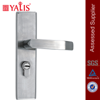 Stainless steel fire rated door lock