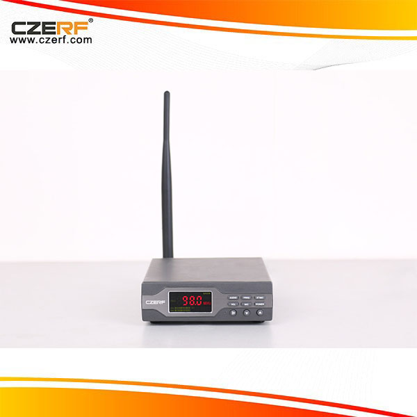 CZE-T501 50W Stereo PLL FM Transmitter with Power Amplifier