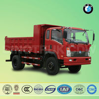 competitive price Euro-II 160HP 10 tons dump trucks for sale