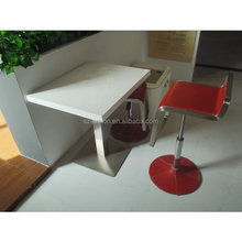 Manufacturer soid surface fast food restaurant furniture mcdonald's kfc table, artificial marble top dining table