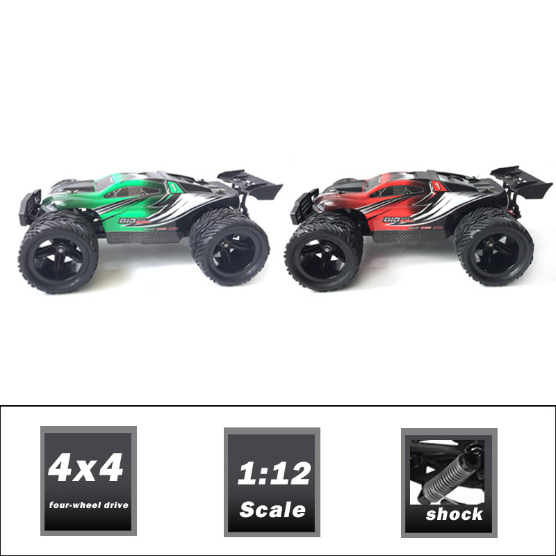 Hot rc toys 1/12 4wd toy car with 3 differentials
