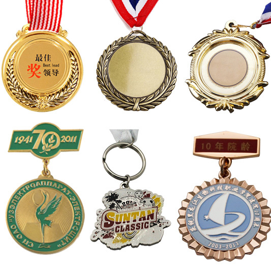 2016 HOT sales cheap customized design plating sports blank medal
