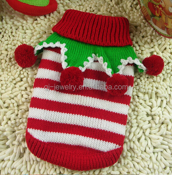 2014 Christmas Pet clothes Winter Knitting patterns for dog clothes, View Kni...