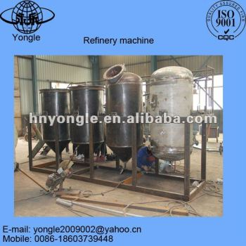 Home made small scale edible oil refinery for oil seeds