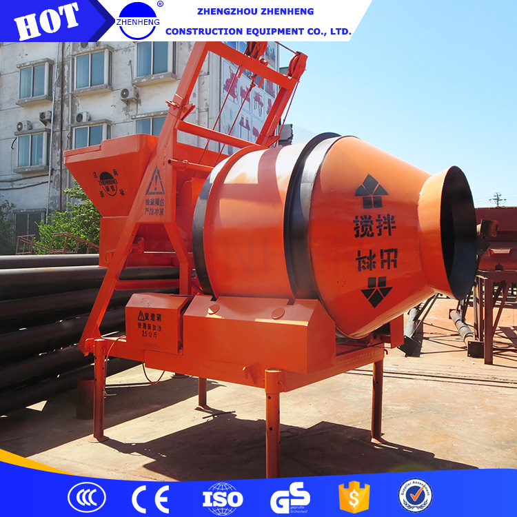 JZM350 mini 350l tilting drum concrete mixer hot sale in south africa