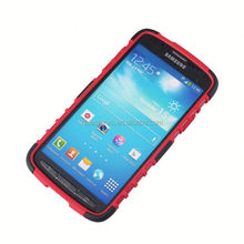 China Global Supplier pc silicon for samsung galaxy s4 active i9252 pc + silicone case for galaxy s4