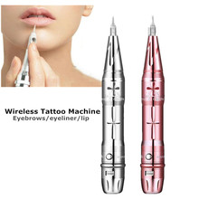 2018 New Wireless Tattoo Gun For Microblading Eyebrow Rotary Permanent Makeup Machine