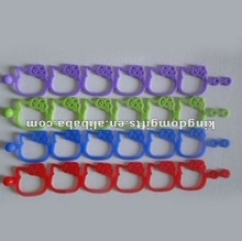 2014 Hotselling Hello Kitty Head Silicone Bracelet