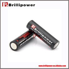 Brillipower 3000mah battery 5v 18650 battery for e-cigs