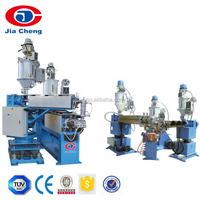 FTTH Fiber Optic Cable Production Line With PVC / LSZH Sheath Cable Extrusion Machine