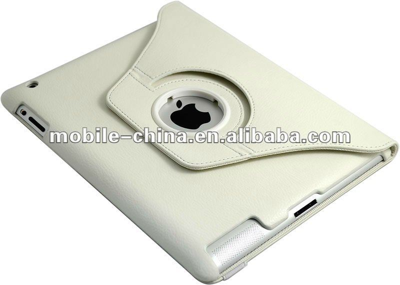 Special PU leather case for iPad3 with stand
